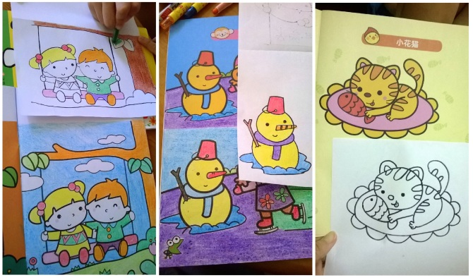 20131217 Colouring at home