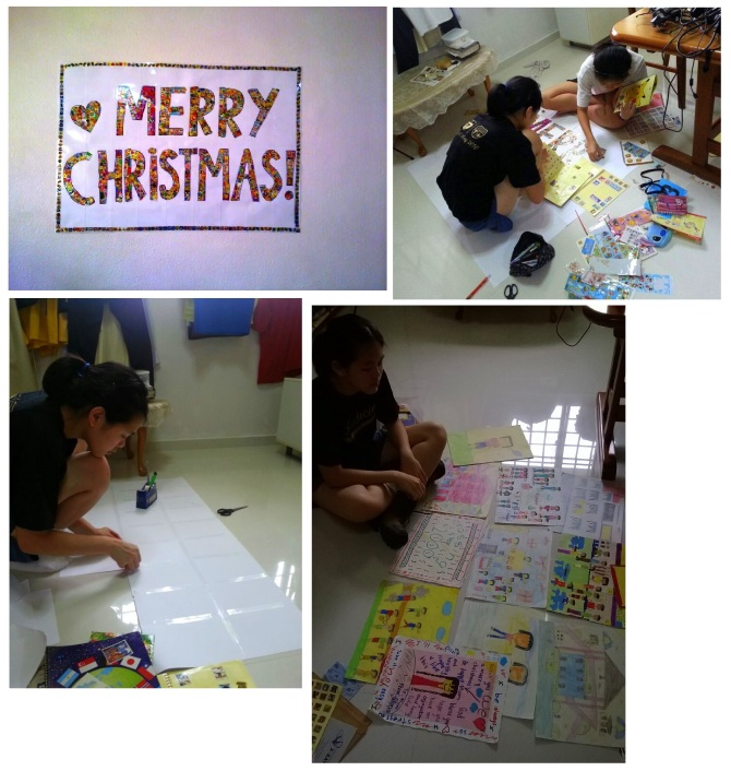 20131221 Christmas party at Home Art