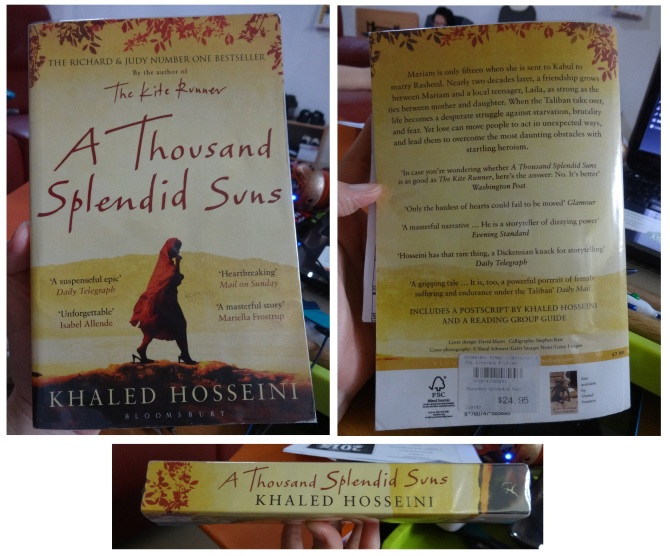 121 A Thousand Splendid Suns Khaled Hosseini