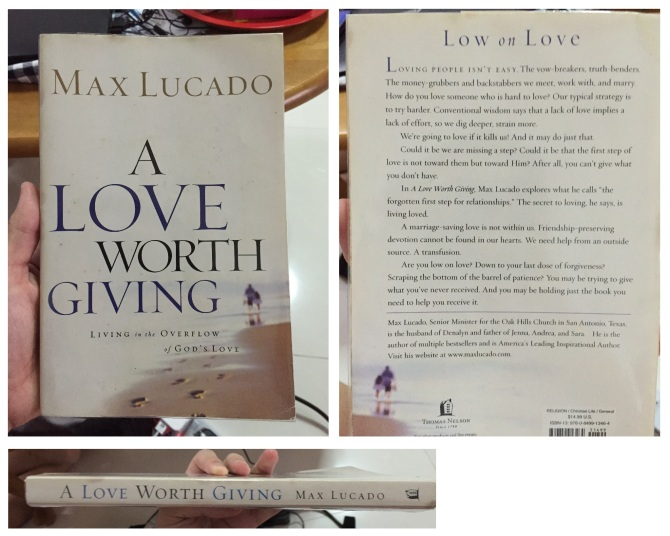 125. A Love Worth Giving Max Lucado