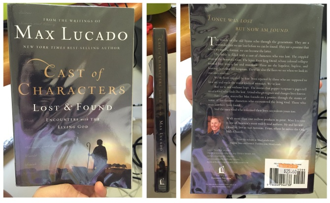 127 Cast of Characters Lost & Found Max Lucado